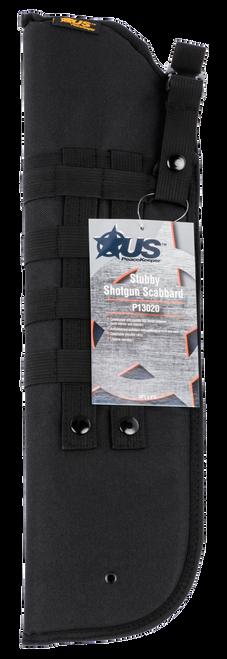 "US PeaceKeeper Shotgun Scabbard Stubby Black 600 Denier Polyester 20"" x 6"""