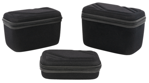 US PeaceKeeper Gear/Ammo Case EVA Denier Nylon, Black, Set of 3