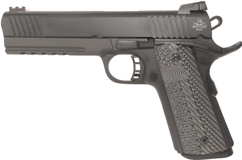 "Rock Island TAC Ultra 1911 9mm W/ 22 TCM Conversion, 5"" Barrel, Black, 10rd"
