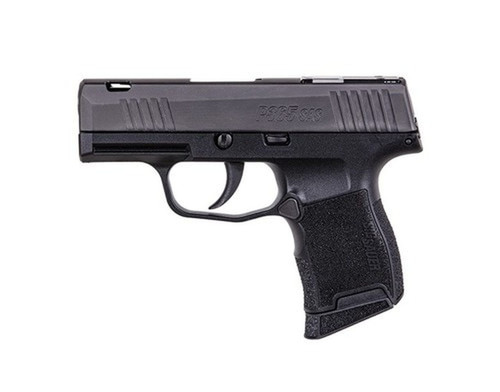 "Sig P365 SAS 9mm, 3.1"" Barrel, FT Bullseye Sights, Black, Mag Coupon, 10rd"