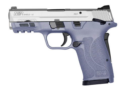 Smith and Wesson M&P 9 Shield EZ 2.0 9mm, Orchid Stainless, 8rd
