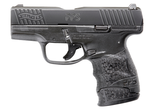 "Walther PPS M2 9mm Factory Certified Pre Owned, 3.2"", 3-Dot Sights, Black, 7rd, Stock #1"