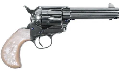 "Uberti 1873 Cattleman Outlaws & Lawman 'Doc' .357 S&W, 4.75"" Barrel, Pearl Grips"
