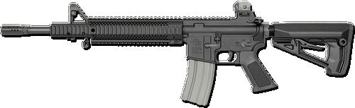 "Rock River Arms Tactical Mid Length UTE LAR-15 5.56/223, 16"" Barrel, 30 Rnd Mag"