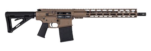 "Diamondback Firearms DB10, Semi-automatic, AR, 308 Winchester, 16"" Barrel, A2 Flash Hider, Flat Dark Earth Color, Magpul MOE-K Pistol Grip, Magpul MOE Carbine Stock, 15"" M-Lok Rail, 20Rd, Gen M3 PMAG"
