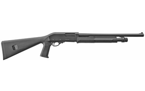 "EAA AKKAR Pistol Grip 12 Ga, 3"" Chamber, 18.5"" Barrel, Black, 5rd"
