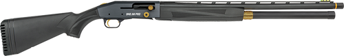 "Mossberg 940 JM Pro 12 Ga, 24"" Barrel, 3"", Black/Tungsten, Fiber Optic, 9rd"