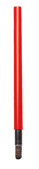 Kleen-Bore Saf-T-Clad Cleaning Rod Adapter #8-36 & 38-32 Thread Red