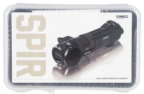 Steiner SPIR IR LED Illuminator, Weapon/Mount, Black