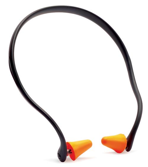 Walkers Pro-Tek Ear Plug Band 25 dB Black/Orange