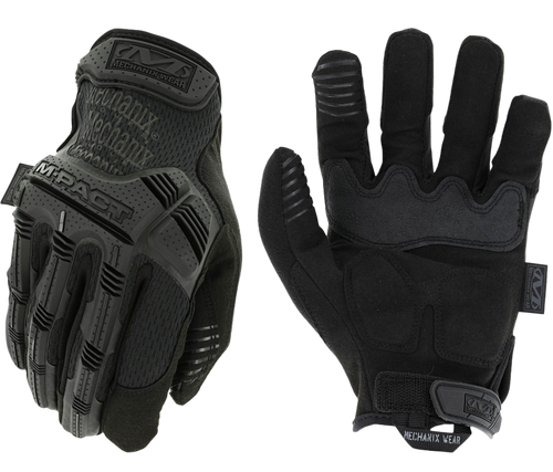 Mechanix Wear M-Pact Covert Small Black Synthetic Leather