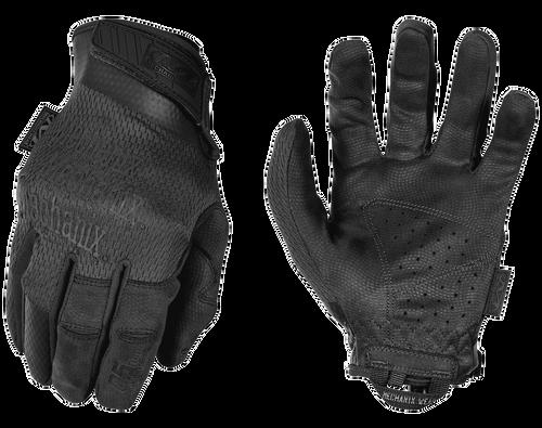 Mechanix Wear Women's Specialty 0.5 Covert High-Dexterity AX-Suede Large Black 1 Pair