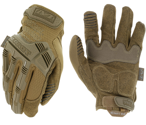 Mechanix Wear M-Pact Small Coyote Synthetic Leather
