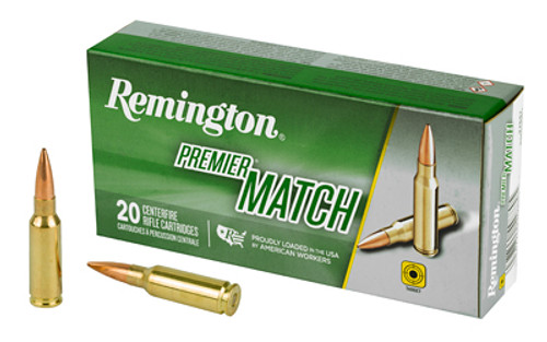 Remington Premier Match 6.5 Grendel Match Burner OTM BT 120Gr, 20/Box
