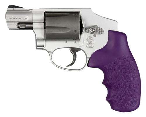 Hogue Rubber Grip For S&W J Frame Revolvers, Purple