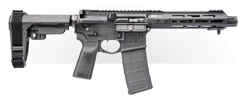 "Springfield SAINT Victor AR-15 Pistol 223/556, 7.5"" Barrel, Blast Diverter, Free-float Handguard M-Lok and Handstop, SBA3 Brace, 30Rd Mag"
