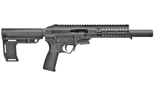 "POF Rebel Pistol .22 LR, 8"" Barrel, MFT Brace, Black, 10rd"