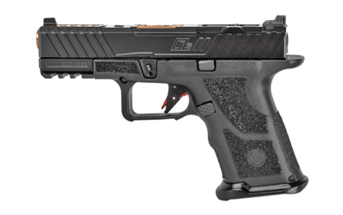 "ZEV Tech OZ-9C Hyper-Comp 9mm, 4"" MGP Barrel, Black, 17rd"