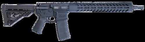 "HM Defense Defender M5L 223 Rem,5.56 NATO 16.00"" Barrel, Black Hardcoat Anodized Black Mil-Spec HM Stock, 30rd"