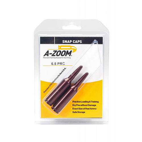 A-Zoom Snap Caps 6.5 PRC, 2 Pack