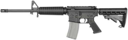 "Rock River Arms LAR-15 CAR A4 AR-15 223 Rem/5.56 NATO 16""Barrel,  6 Pos Stock Black,  30 rd Mag"