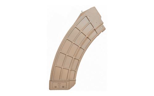 Century US Palm AK Magazine 7.62x39 AK-47, Flat Dark Earth Detachable, 30rd