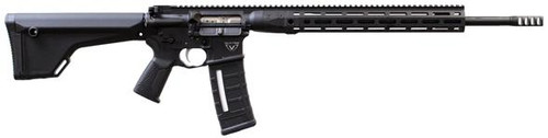 "LWRC IC-DI AR-15 224 Valkyrie 20"" Barrel, Tungsten Grey, MOE Rifle Stock, M-LOK Rail, Full Ambi, 30Rd Mag"