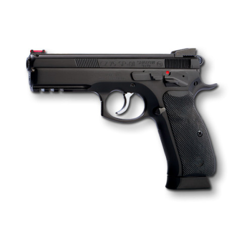 CZ 75 SP-01 Shadow 9mm Custom, Black, 19rd