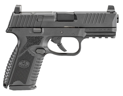"FN 509 Mid Size MRD 9mm, 4"" Barrel, Black, Night Sights, 3x15rd Mags"
