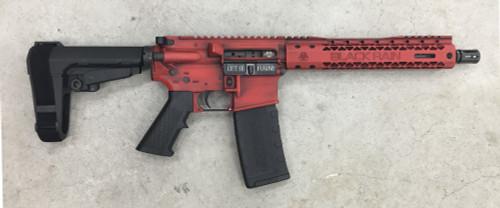 "Black Rain Spec 15 Pistol, 5.56/223, 10.5"" Barrel, SBA3 Pistol Brace, 30rd"