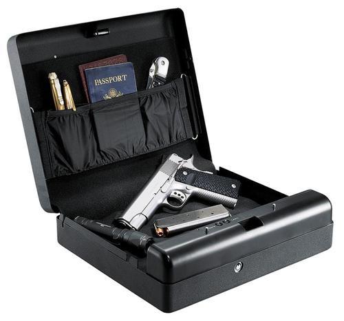 Gunvault Gun Safe Black, Microvault XL Bio