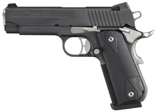 "Sig 1911 Nightmare .357 Sig, 4.2"", 8rd, SigLite Night Sights, G10 Grips"