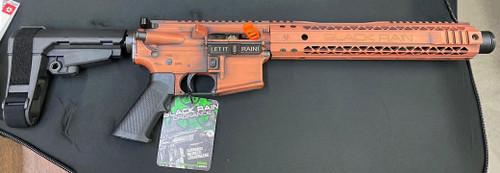 Black Rain Ordnance Spec15 Pistol 5.56/.223, Copper Suede, SBA3, 30rd