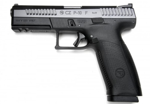CZ P-10 F 9mm, Black, Night Sights, 3x19rd Mags