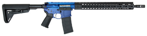 "FN 15 Competition .223/5.56 W/ Leupold VX-6, 18"" Barrel, Magpul MOE SL, Blue/Black, 30rd"