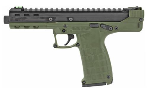 """Kel-Tec CP33 22 LR 5.5"""",  Olive DrabGreen Polymer Grip/Frame Olive DrabGreen Slide,  33 rd"""