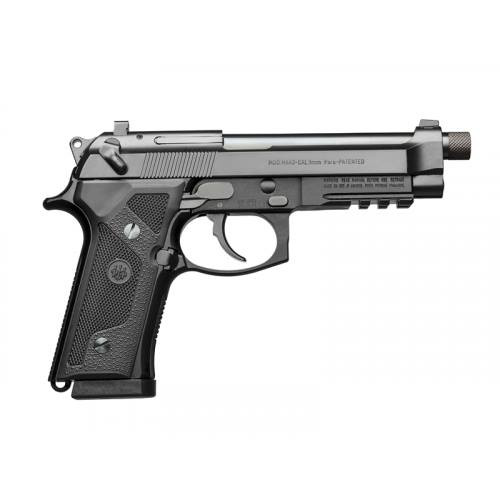 "Beretta M9A3 9mm Black 5"" 17 Round Decocker Only"