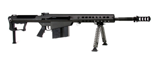 "Barrett M107A1 50 BMG, 20"" Barrel, Black Cerakote Finish, Synthetic Stock, Front/Rear Flip Sights, 10Rd, 1 Magazine, Bipod, Pelican Hard Case"