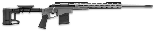 "Remington 700 PCR Enhanced 6mm Creedmoor 24"",  Tungsten Gray Cerakote Adjustable MDT SCS Lite Stock,  10 rd"