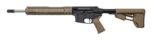 "Black Rain Ordnance Side-Charging 9mm, 16"" Barrel, Non-Reciprocating, FDE, 31rd"