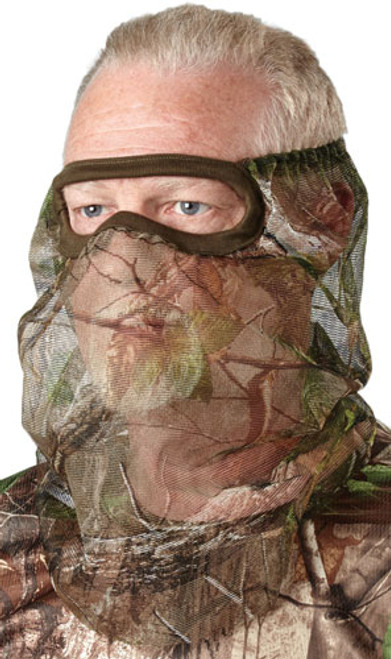 Hunters Specialties 3/4 Net Facemask Realtree Edge