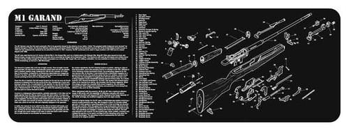 """TekMat M1 Garand Cleaning Mat 36"""" x 12"""" x 1/8"""""""