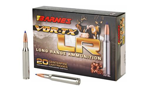 Barnes VOR-TX Long Range 270 Win 129gr, LRX Boat Tail, 20rd Box