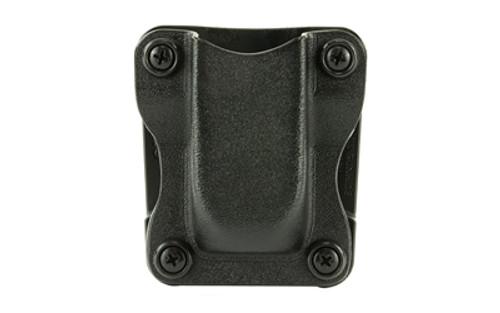 Desantis Quantico Single Mag Pouch, Ambidextrous, Black, Kydex, Glock 43 Magazine