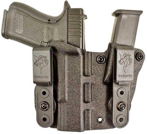 Desantis Hidden Truth IWB, Black, Kydex, Glock 43, 43X, Right Hand
