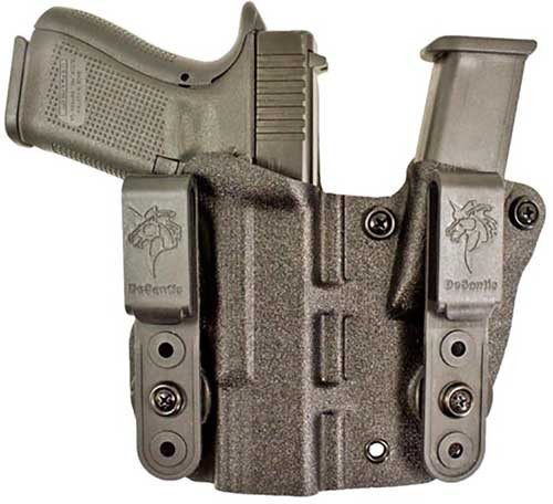DeSantis Gunhide, 160, Hidden Truth, Inside Waistband Holster, Right Hand, Fits Glock 43, 43X, Black Kydex