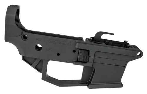 Angstadt Arms Lower Receiver AR-15 Platform 9mm, 7075 T6 Alum, Black Hardcoat Anodized, Accepts Glock Mags