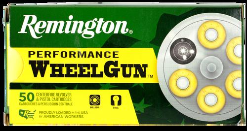 Remington Performance WheelGun 38 Special 158gr, Lead Round Nose, 50rd Box