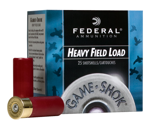 "Federal Game-Shok Upland 28 Ga, 2.75"", 1oz, 7.5 Shot, 25rd Box"