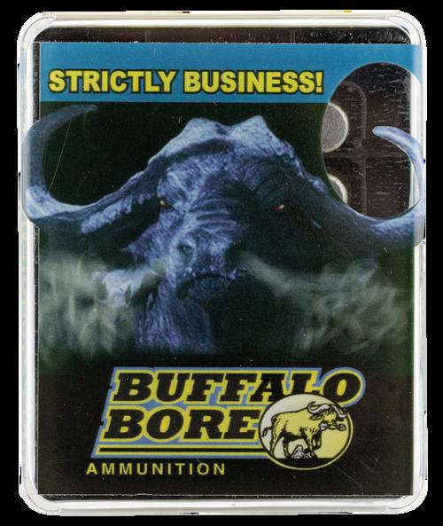 Buffalo Bore Pistol 460 Rowland 255gr, Hard Cast Flat Nose, 20rd Box